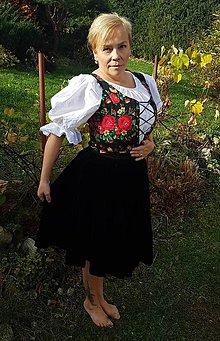 Sukne - Ženský ľudový odev - 10060341_