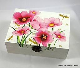 Krabičky - šperkovnica Rozkvitnutá - 10060686_