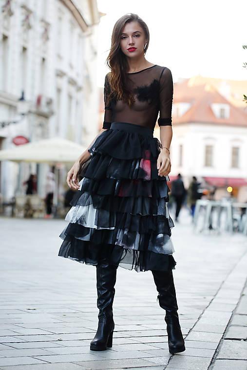 Šifónová sukňa s Príbehom