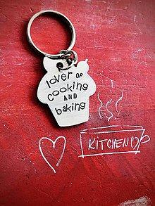 Kľúčenky - Milovník varenia a pečenia :) - 10063710_