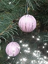 Dekorácie - Vianočná guľa Temari - 10063746_