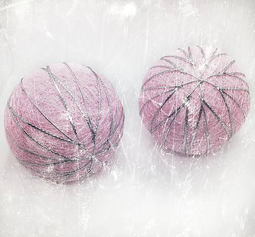 Vianočná guľa Temari