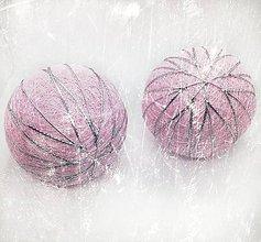 Dekorácie - Vianočná guľa Temari - 10063739_