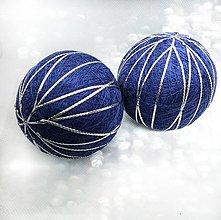 Dekorácie - Vianočná guľa Temari - 10063774_