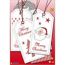 Papiernictvo - Dizajnové Vianočné etikety - Christmas - 10064232_