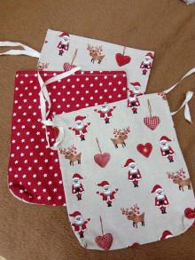 Úžitkový textil - Mikulášske vrecúško 4 - 10064473_