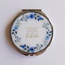 Zrkadielka - Zrkadlo modré babička - 10063033_