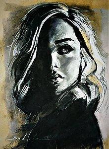 Kresby - portrety - 10062867_