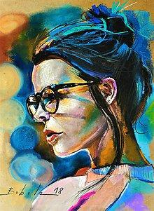 Obrazy - portrety - 10062927_