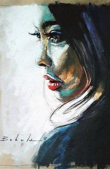 Obrazy - portrety - 10064233_