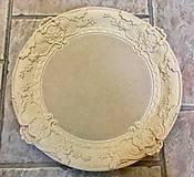 Polotovary - Baroková tacka pr. 35 cm - 10062785_