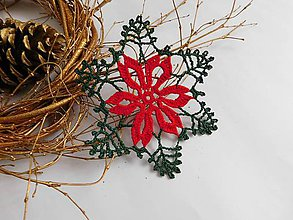 Úžitkový textil - Vianočné podšálky - 10064483_
