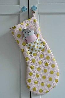Textil - mikulášska čižma - 10063213_