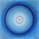 Obrazy - Mandala POKOJ V DUŠI 60 x 60 - 10065081_