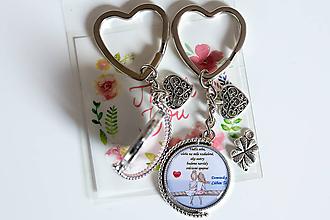 Kľúčenky - kľúčenka s fotkou (25mm) - 10063960_