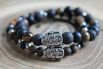 Náramky - 2 Buddha náramky - 10063452_