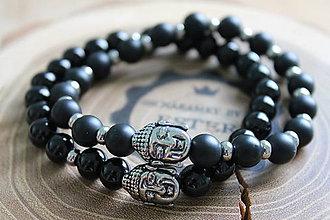 Náramky - 2 Buddha náramky - 10063462_