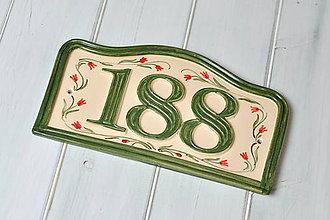 Tabuľky - Číslo domu z keramiky - 10062493_