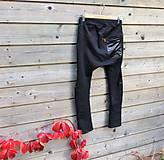 Detské oblečenie - Nohavice pre výnimočných - čierne - 10061994_