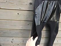 Detské oblečenie - Nohavice pre výnimočných - čierne - 10061995_