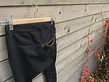Detské oblečenie - Nohavice pre výnimočných - čierne - 10061996_