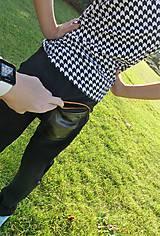 Detské oblečenie - Nohavice pre výnimočných - čierne - 10062002_
