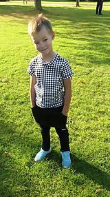 Detské oblečenie - Nohavice pre výnimočných - čierne - 10062004_