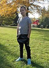 Detské oblečenie - Nohavice pre výnimočných - čierne - 10062615_