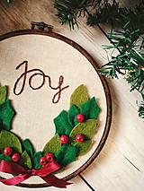 Obrázky - Joy - vianočný venček - 10064969_