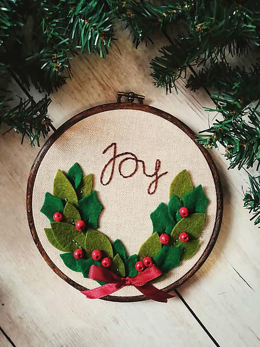 Joy - vianočný venček