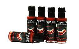 Potraviny - CAYENNE 🔥🔥 Stredne pálivá Chilli omáčka s papričkami Cayenne - 10064944_