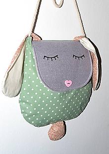 Detské tašky - Zajko kabelka - 10063840_