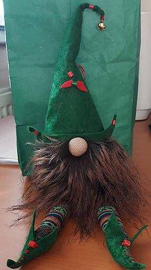 Drobnosti - Vianočný škriatok - 10063784_