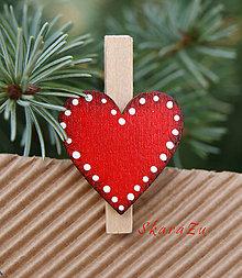 Dekorácie - Srdce na darčeky - 10065449_