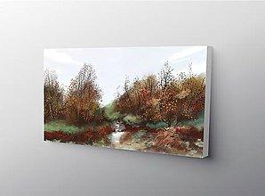 Obrazy - Ešte zelená jeseň - 10063616_