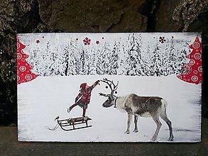 Tabuľky - Rozprávkové vianočné tabuľky - 10063469_
