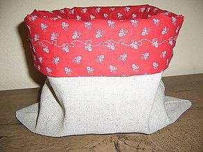 Úžitkový textil - Vrecúško na čokoľvek - 10064846_