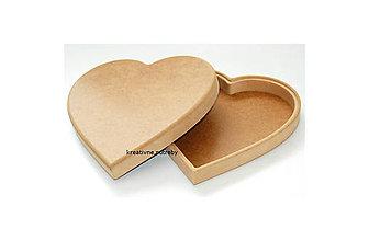 Polotovary - Srdce z mdf 24cm - 10064950_