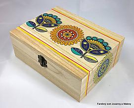 Krabičky - šperkovnica Etno - 10064704_