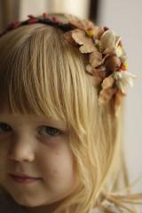 Ozdoby do vlasov - čelenka vo farbách jesene - 10065931_