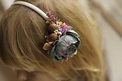 Ozdoby do vlasov - Čelenka busty blue 2 - 10065987_