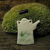 Odznaky/Brošne - for green tea lovers - 10066149_