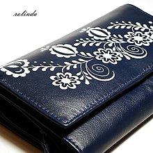 Peňaženky - Modrá peněženka Vajnory - 10066603_