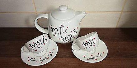 Nádoby - Sada na čaj Kam pôjdeš Ty pôjdem aj ja - 10070433_