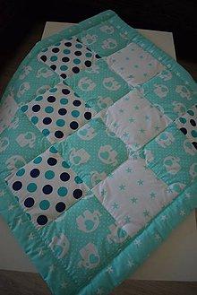 Textil - DĚTSKÁ PATCHWORKOVÁ DEKA ... - 10068546_