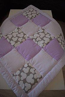 Textil - DĚTSKÁ PATCHWORKOVÁ DEKA ... - 10068569_