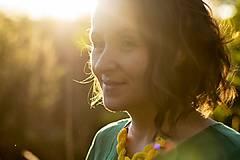 Náhrdelníky - Náhrdelník Slnkom popletený - 10069904_