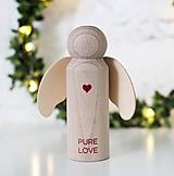 Dekorácie - ANJELIK PURE LOVE - 10066927_