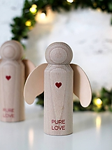 Dekorácie - ANJELIK PURE LOVE - 10066930_