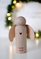 Dekorácie - ANJELIK PURE LOVE - 10066931_